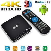 Android 7.1 TV Box,MaQue M8S Pro Plus Amlogic S905X Quad core 4K WIFI Smart Android Box VP9 HDR10 VS T95m TX3 Pro TV Box