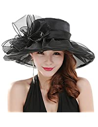 Women's Fashion Summer Church Kentucky Derby Cap British Tea Party Wedding Hat