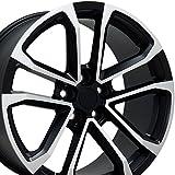 wheels camaro - OE Wheels 20 Inch Fits Chevy Camaro 10-2018 ZL1 Style CV19 20x9.5/20x8.5 Rims Satin Black Machined SET