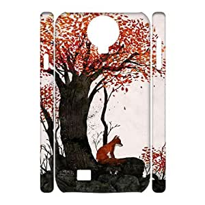 Lycase(TM) FOX Customized 3D Cell Phone Case, FOX SamSung Galaxy S4 I9500 Protective 3D Case
