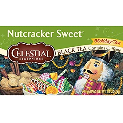 Celestial Seasonings Holiday Teas Nutcracker Sweet 20 tea bags (a)