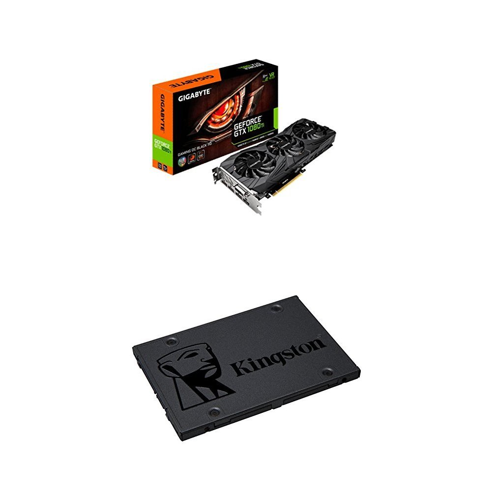 Gigabyte GTX 1080 TI Gaming OC - Tarjeta gráfica y Kingston SSD ...