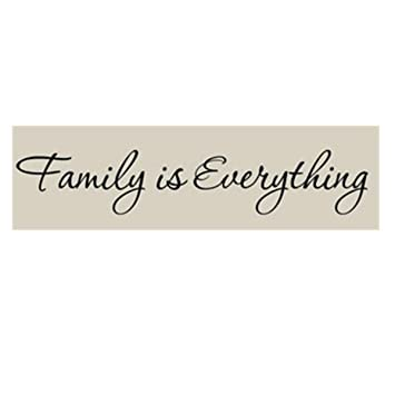 Amazon Com Myhouse 1pcs Family Is Everything Wall Sticker Decal