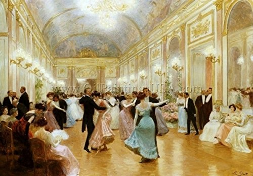 An Elegant Soiree by Victor Gabriel Gilbert - 21