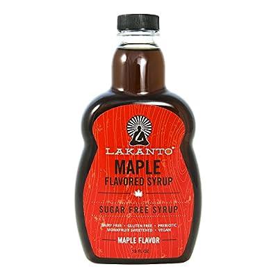 Lakanto Maple Flavored Sugar-Free Syrup, 13 Ounce from Saraya USA, Inc