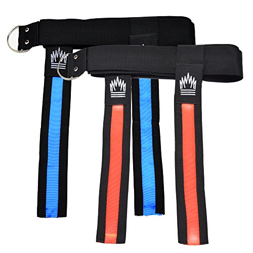 Flag Football Flags & Belts - 5 Red/5 Blue LED Glow Football Flags (Set Of 10 Flags)