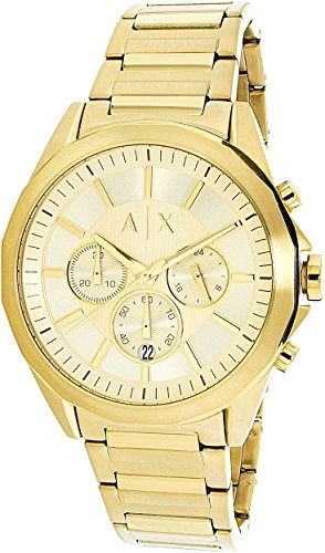 s AX2602 Gold Watch ()