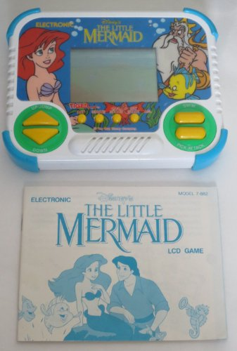 Disney's The Little Mermaid Electronic LCD Handheld Game (1991) ()