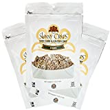 Skinny Crisps Seeded Low Carb & Gluten Free Crackers 4 Ounce Bag (3 Bags)