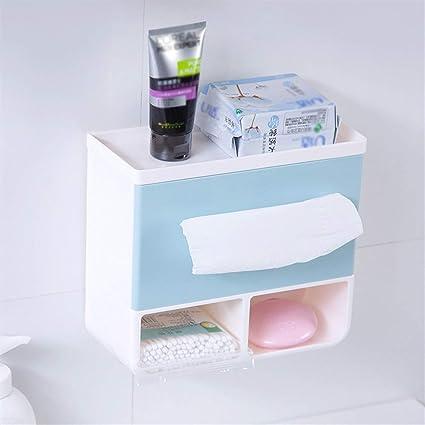 4 Colores Baño Papel higiénico Portavasos Caja de pañuelos ...