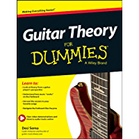 Guitar Theory For Dummies: Book + Online Video & Audio Instruction book cover