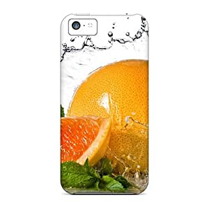 Top Quality Protection Food Fruits And Berryes Grapefruit Cases Covers For Iphone 5c