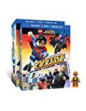 DVD : LEGO DC Super Heroes: Justice League: Attack of the Legion of Doom!(Blu-Ray + DVD + Digital HD UltraViolet Combo Pack) w/ Figurine