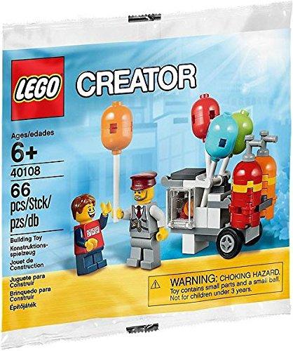 Amazon.com: LEGO CREATOR BALLOON CART POLYBAG 40108: Toys & Games