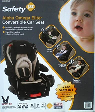 Safety 1st Alpha Omega Elite 3 In 1 Convertible Car Seat