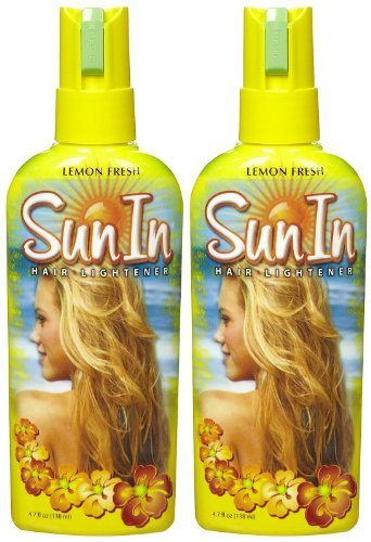 Sun In Hair Lightener, Lemon, 4.7 Ounce (Pack of 2)