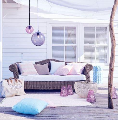 kasandria outdoor sofa grau meliert online bestellen. Black Bedroom Furniture Sets. Home Design Ideas