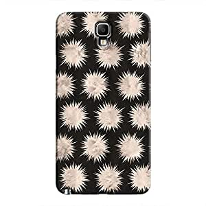 Cover It Up - Silver Star Black Galaxy Note 3 Neo Hard Case