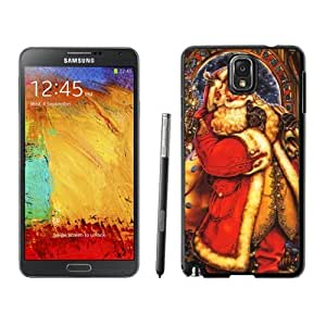 Note 3 Case,Long Gown Christmas Santa Grandpa TPU Black Samsung Galaxy Note 3 Cover Case,Note 3 Cover Case