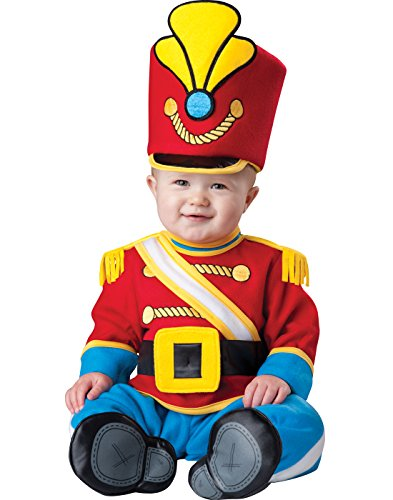 InCharacter Costumes Baby's Tiny Toy Soldier Costume, Red/Yellow/Blue, Small ()