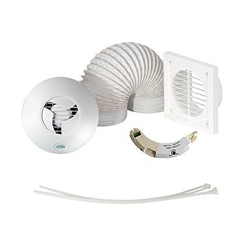 airflow tshwkt 15 set aspiratore per bagni con doccia con ventola e cronometro