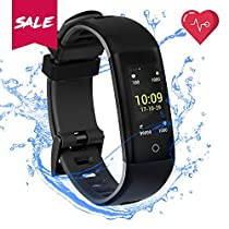 Fitness Tracker,Blood Pressure Heart Rate Monitor READ G16 IP67 Waterproof Smart Watch Health Tracker Step Distance Calories Track Sleep Monitor Pedometer Call SMS SNS Remind Watch for Android iOS