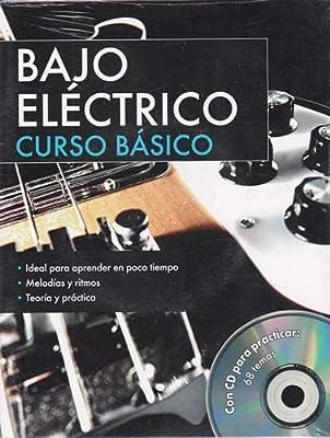 Bajo eléctrico Curso Básico: Cuaderno y CD con 94 temas para ...