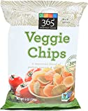 365 Everyday Value, Veggie Chips, 6 Ounce