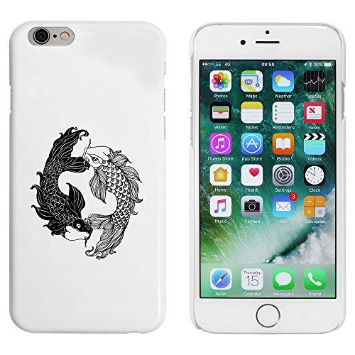 Blanc 'Poisson Tourbillonner' étui / housse pour iPhone 6 & 6s (MC00033134)