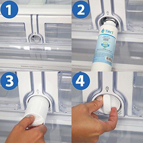 Tier1 Replacement Samsung DA29-00020B, DA29-00020A, HAFCIN/EXP, HAFCIN, 46-9101, DA97-08006A-B Refrigerator Water Filter by Tier1 (Image #4)