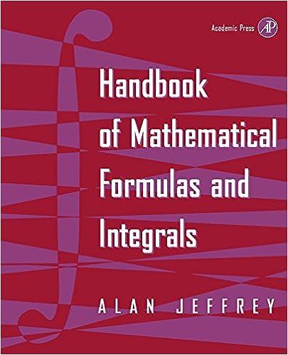 Handbook of mathematical formulas and integrals 1st alan jeffrey handbook of mathematical formulas and integrals 1st alan jeffrey amazon fandeluxe Gallery