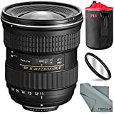 Tokina AT-X 116 PRO DX-II 11-16mm f/2.8 Lens for Nikon F (USA Warranty) and Basic Accessory Bundle