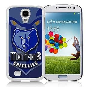Unique Custom Designed Cover Case For Samsung Galaxy S4 I9500 i337 M919 i545 r970 l720 With Memphis Grizzlies 6 White Phone Case