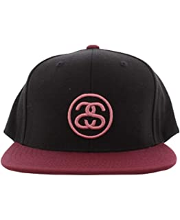 642cec3fd4d808 Amazon.com: Stussy - Mens Stock Lock Snapback Hat, Size: O/S, Color ...