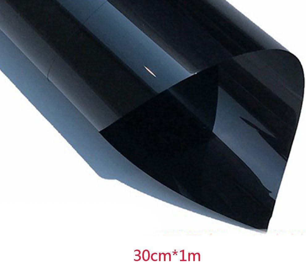 protector solar adhesivo decorativo para ventana ideal para obtener m/ás privacidad en tu coche y hogar aislante de calor 30cm*1m negro Pel/ícula de espejo para ventana de Tookie