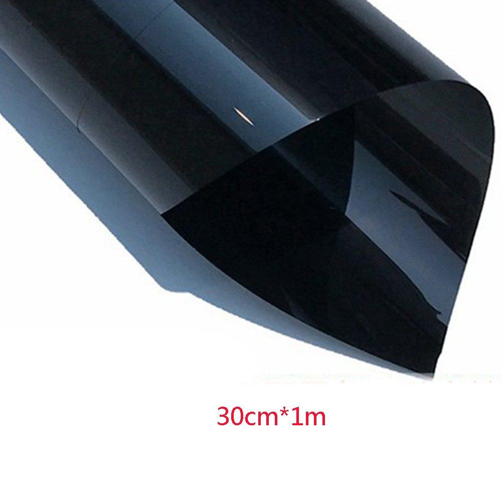 ragdoll50ウィンドウミラーFilmプライバシー、車ウィンドウHousehold heat-insulating Film、装飾ウィンドウガラスステッカーサンスクリーンフィルムSolar Tint Film 50cm*1m ブラック 15305362209209 B07F6JYSS5  ブラック 50cm*1m