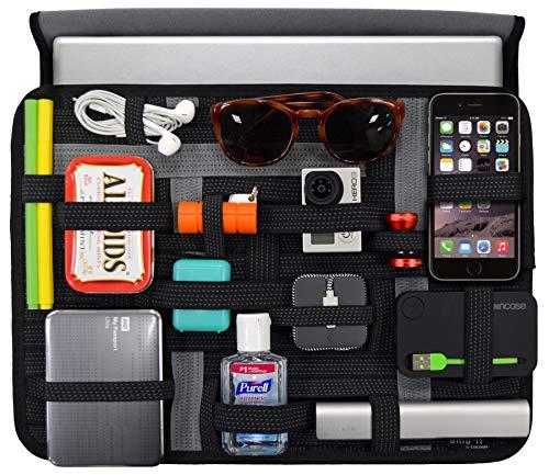Cocoon CPG38BK GRID-IT! Wrap 13 Laptop Accessory Organizer (Black)