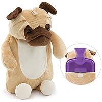 HomeTop Premium Classic Rubber Hot Water Bottle 1L (Huggy Puggy)