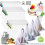 Kitchwise Reusable Grocery & Produce Bags Set of 11