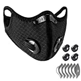 WISREMT Cycling Face Mask, Nylon Spandex Activated