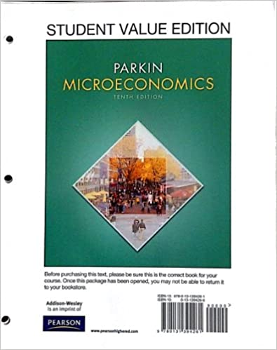 Microeconomics student value edition plus new myeconlab with microeconomics student value edition plus new myeconlab with pearson etext access card package 10th edition 10th edition by michael parkin fandeluxe Gallery