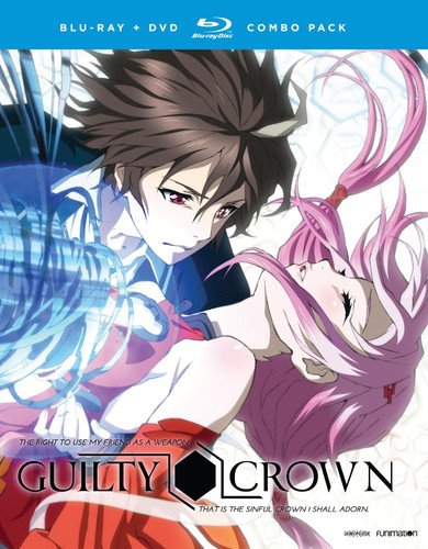 Blu-ray : Guilty Crown: The Complete Series (With DVD, 8 Disc)