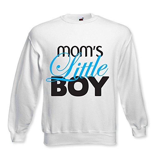 Felpa girl Maschietto Per La Mamma Regalo Mom's Idea Bianca Baby Bambino Boy Little Neonato OnxWOP