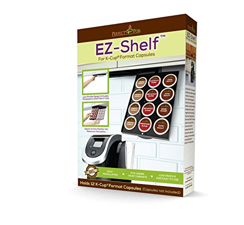 EZ-Shelf for K-Cup Capsules by Perfect Pod