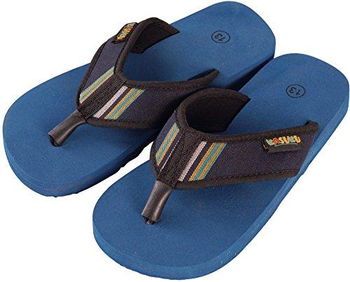 Kasuku , Chaussures de piscine et plage pour garçon Bleu Bleu marine