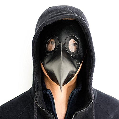 White Déguisement peste Masque Balle Cospaly pour de Cadeau Party Halloween Oiseau Drôle Bec Médecin CZOZvw