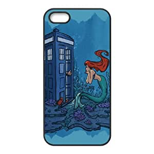 High Quality -ChenDong PHONE CASE- For Apple Iphone 5 5S Cases -The Little Mermaid-UNIQUE-DESIGH 1
