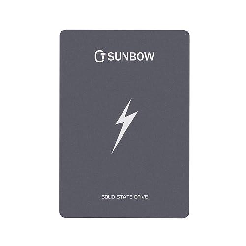 TCSUNBOW 1TB 2 5 pulgadas SSD SATAIII 6GB s Hasta 560MB s Con 1204 caché Unidad de estado sólido interna para Tablet PC portátil X3 1TB