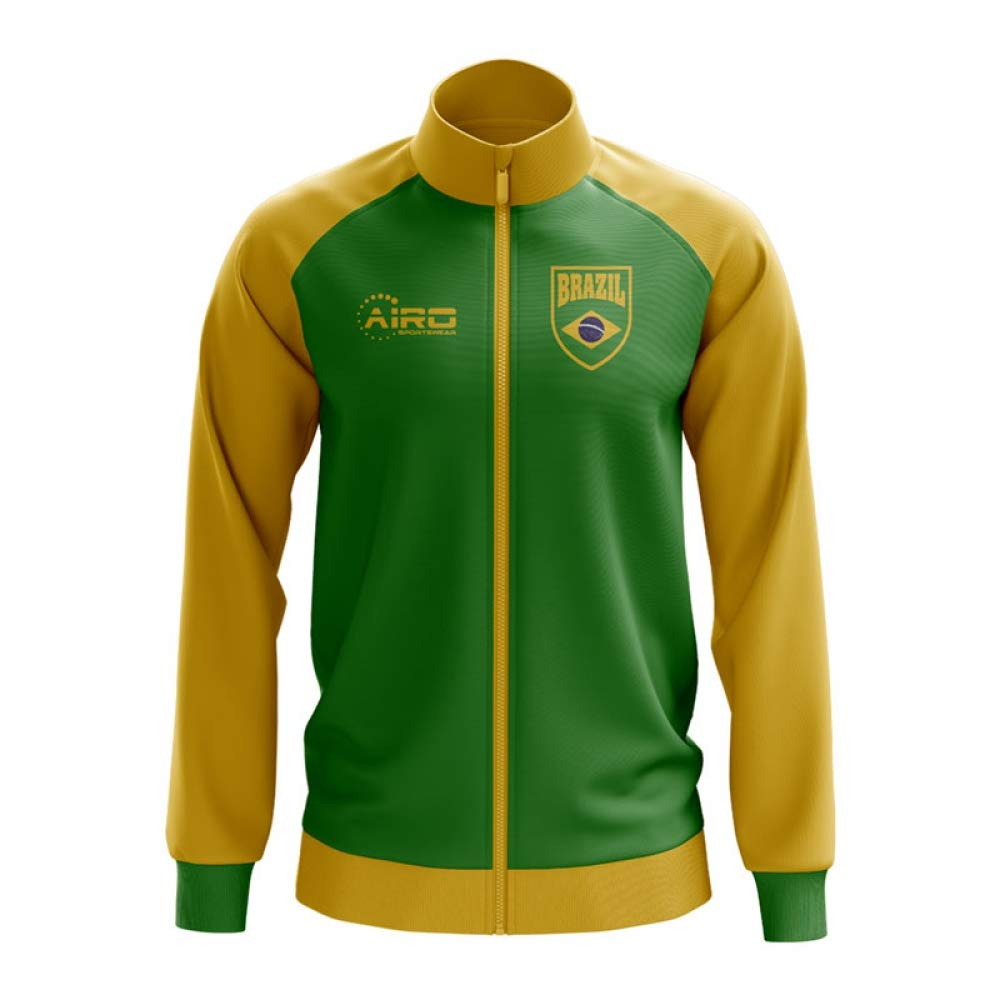 Airo Sportswear Brazil Concept Football Track Jacket (Grün) - Kids
