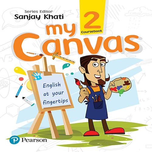 My Canvas Coursebook by Pearson for CBSE English Class 2: Amazon in